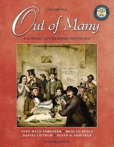 Out-of-Many-A-History-of-the-American-People-Volume-I-4th-Edition