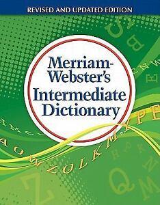 Merriam-Webster's Intermediate Dictionary, , Good Book