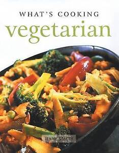 Whats Cooking Vegetarian by Jenny Stacey Hardback 1999 - Blackpool, United Kingdom - Whats Cooking Vegetarian by Jenny Stacey Hardback 1999 - Blackpool, United Kingdom