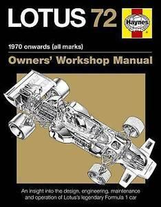 New Lotus 72 Owners Manual (PB)