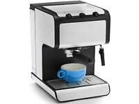 Andrew James ESPRESSO COFFEE MACHINE with milk frother
