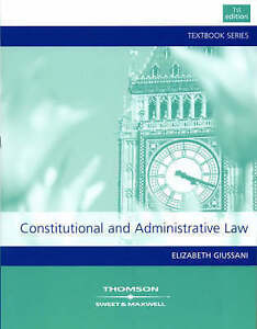 Constitutional and Administrative Law-ExLibrary