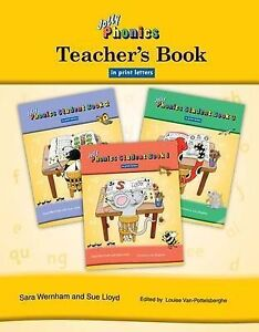NEW Jolly Phonics Teacher's Book in Print Letters by Sara Wernham