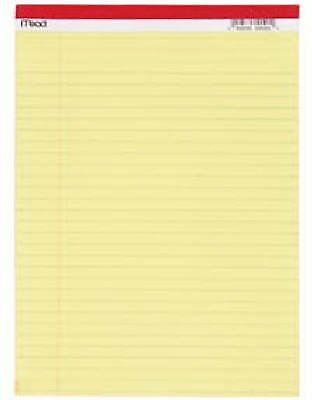 Mead Legal Pad 8-12 In. X 11-34 In. Yellow