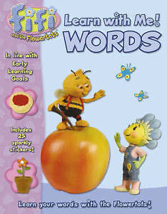 Fifi and the Flowertots - Words: Learn With Me: Learn With Me Book, New,  Book