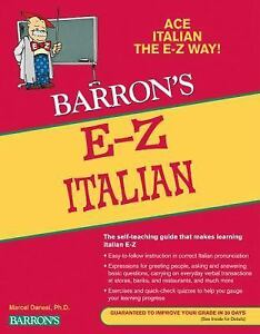 E-Z-Italian-Barrons-E-Z-Series-Danesi-Ph-D-Marcel-Very-Good-2011-04-01