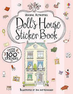 Milbourne, Anna-Doll`S House Sticker Book  BOOK NEW