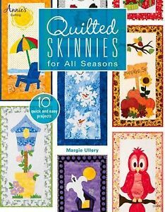 Quilted-Skinnies-for-All-Seasons-by-Margie-Ullery-2014-Paperback
