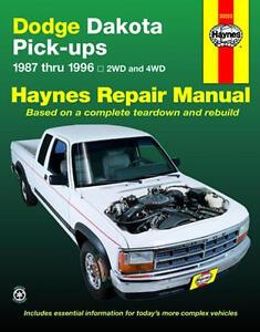 repair manual book dodge dakota pickup truck owners. Black Bedroom Furniture Sets. Home Design Ideas