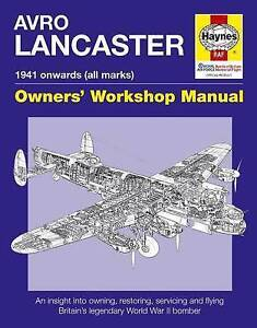 Avro-Lancaster-Manual-by-Jarrod-Cotter-Paul-Blackah-Hardback-2015