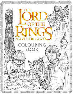 The Lord of the Rings Movie Trilogy Colouring Book, Warner Brothers
