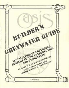 Builder's Greywater Guide: Installation of Greywater Systems in New...