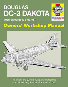 DOUGLAS DC-3 DAKOTA MANUAL BOOK NEW