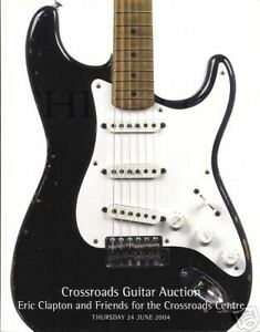 MINT Eric Clapton 2004 Christies Guitar Auction Catalogues
