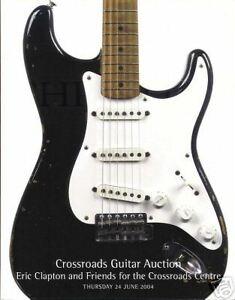 MINT Eric Clapton 2004 Christies Guitar Auction Catalogues