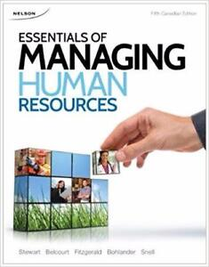 Essentials of Managing Human Resources 5th Edition