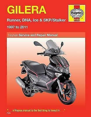 Haynes Manual Gilera Runner 1997-2011 Runner DNA Ice SKP Scooters