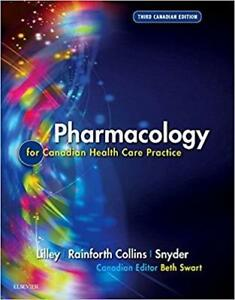 Pharmacology for Canadian Health Care Practice 3rd Edition