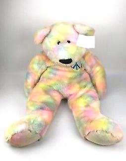 Jumbo Ty Peace Teddy Bear