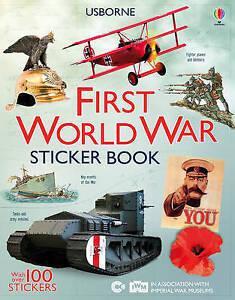 First World War Sticker Book, Ian McNee, Struan Reid &