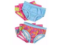 Bright Bots Girls Knickers, Age 1-2 and 2-3 Years, As New - Unused, £9.95 on ebay