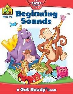 School Zone Beginning Sounds (Ages 4-6) by Hinkler Books NEW Free Shipping!