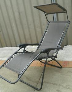Folding Camping Picnic Recliner Sun Chair Blacktown Blacktown Area Preview