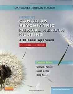 Varcarolis's Canadian Psychiatric Mental Health Nursing 1st edition