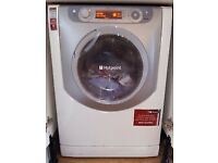00 Hotpoint AQGMD149 8+6kg 1400Spin White LCD Washer/dryer 1YEAR WARRANTY FREE DEL N FIT