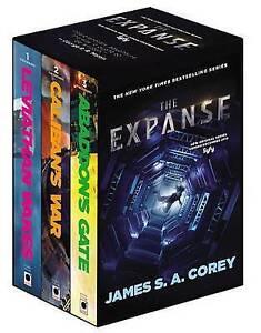 The Expanse Boxed Set Leviathan Wakes Caliban's War Abaddon by Corey James S A