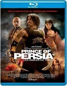 Prince of Persia-Sands of Time-Blu-Ray-Great condition + bonus