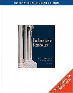 Fundamentals of Business Law with Online Research Guide, International Edition b