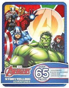 Marvel Avengers Storytelling Adventures: Over 65 Pieces by Parragon Books Ltd (M