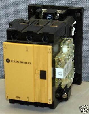 Allen-Bradley A-B 100-A60N*3 60 Amp Contactor 60 Amps