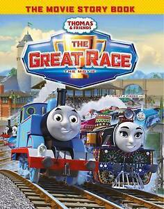 Thomas & Friends: The Great Race Movie Storybook  BOOK NEW