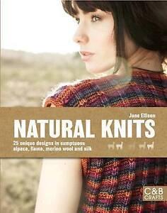 New, Natural Knits, Jane Ellison, Book
