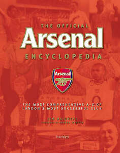 The Official Arsenal Encyclopedia, Maidment, Jem, New Book