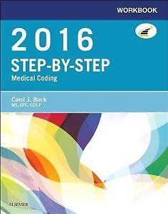 Workbook-for-Step-By-Step-Medical-Coding-2016-Edition-by-Carol-J-Buck