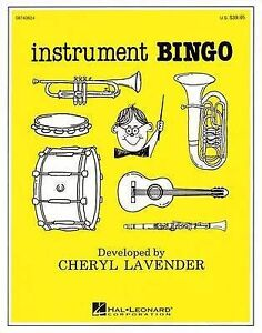 NEW Instrument Bingo