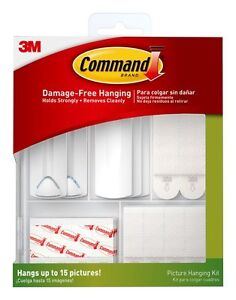 3M Comman Picture Hanging Kit