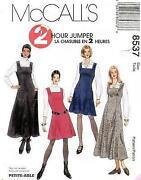 Misses Jumper Sewing Pattern