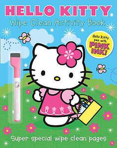 Wipe Clean Activity Book (Hello Kitty), Bill Boo, Very Good Book
