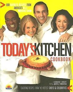 Today-039-s-Kitchen-NEW-Hardcover-COOKBOOK-Celebrity-KATIE-Al-Today-Show-RECIPES