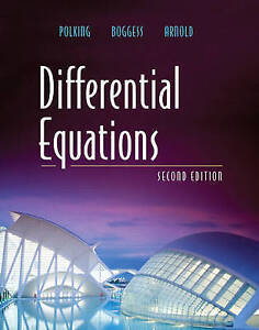 NEW Differential Equations (2nd Edition) by John Polking