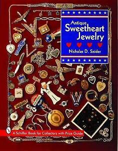 Antique Sweetheart Jewelry (Schiffer Book for Collectors)-ExLibrary