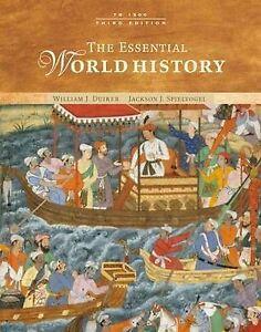 The essential world history to 1500 william j duiker jackson j