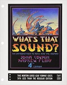 What's That Sound?An Introduction to Rock and Its History 4th edition
