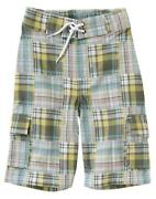 Boys Plaid Shorts Size 7