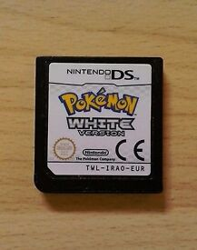 Pokemon White cartridge only. Can post out.