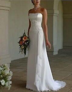 New wedding dress size 10
